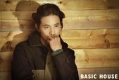 韓國男星, 女星化妝品, 時裝代言畫報寫真:Basic House-元斌姜素拉2012秋6.jpg