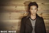 韓國男星, 女星化妝品, 時裝代言畫報寫真:Basic House-元斌姜素拉2012秋8.jpg