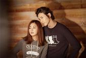 韓國男星, 女星化妝品, 時裝代言畫報寫真:Basic House-元斌姜素拉2012秋1.jpg
