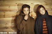 韓國男星, 女星化妝品, 時裝代言畫報寫真:Basic House-元斌姜素拉2012秋9.jpg