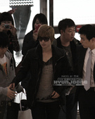 2011金賢重日本巡演表演, 記者會, 機場圖:111108-金浦機場赴日001.jpg