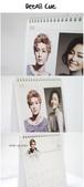 金賢重Keyeast官方商品, 官圖, 桌曆:Keyeast 2012 star calendar1