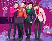 韓國樂天免稅店(Lotte DFS) 2011年1~2012年月明星月曆桌布, 代言圖(崔智友, 玄彬, 宋承憲, 2PM, Big Bang, JYJ, 金賢重, 張根碩, Rain):Big Bang-201111-1280-2.jpg