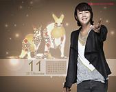 韓國樂天免稅店(Lotte DFS) 2011年1~2012年月明星月曆桌布, 代言圖(崔智友, 玄彬, 宋承憲, 2PM, Big Bang, JYJ, 金賢重, 張根碩, Rain):張根碩-201111-1280-1.jpg
