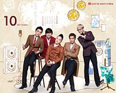 韓國樂天免稅店(Lotte DFS) 2011年1~2012年月明星月曆桌布, 代言圖(崔智友, 玄彬, 宋承憲, 2PM, Big Bang, JYJ, 金賢重, 張根碩, Rain):Big Bang-lotte201110-1.jpg